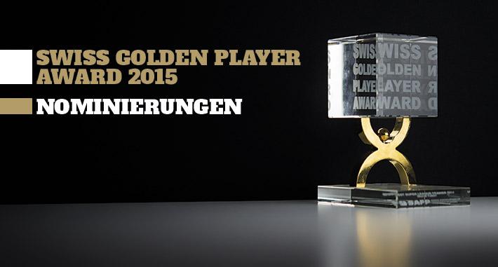 Swiss Golden Player Award 2015 - Nominierungen