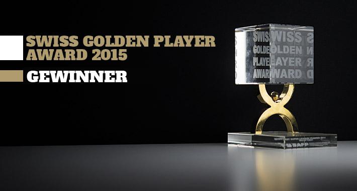 Swiss Golden Player Award 2015 - Gewinner