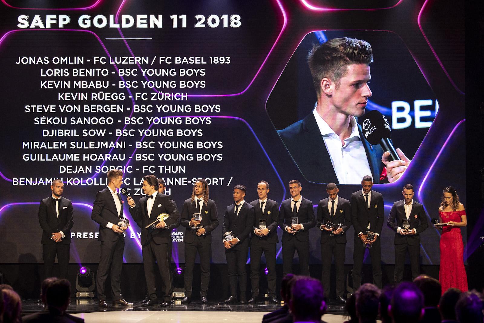 Golden11 - SAFP Golden11 2018 (COPYRIGHT Claudio de Capitani/freshfocus)